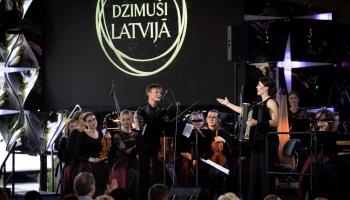"""Tiešraidē no Dzintaru koncertzāles - Jūrmalas festivāla noslēguma koncerts """"Dzimuši Latvijā"""""""