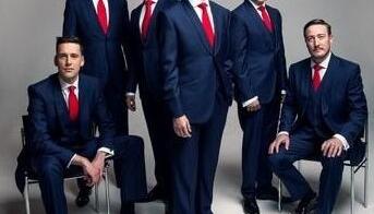 """Angļu vokālā grupa """"The King's Singers"""""""