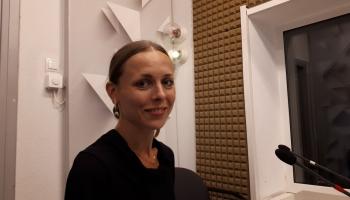 Baletdejotāja Anna Laudere aicina būt piesardzīgiem un atbildīgiem ārkārtas situācijā