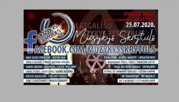 """Latgaliešu mūzikas festivāls """"Muzykys skrytuļs"""" šogad notiks digitāli"""