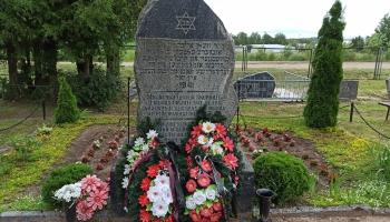 "Holokausta 80. godadīna, ebreji Latgolā i projekts ""Memo Tour"""