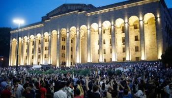 Moldova ieņem kursu uz Eiropu. Vēsturnieks Putins. Protesti Gruzijā
