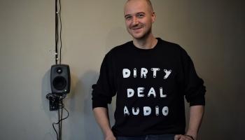 """Jauns veids, kā klausīties mūziku. """"Dirty Deal Audio"""" Liepājā attīsta telpisko skaņu"""