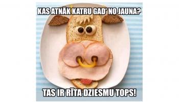 Latviešu rīta dziesmu topa rezultāti - 2018. gada TOP40!