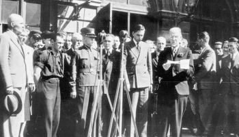 """Otrais pasaules karš: cikls """"Satumsums"""". Norises 1940.gadā otrajā pusē Latvijā"""