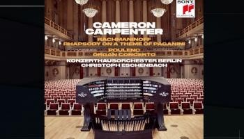 """Kamerons Kārpenters, """"Konzerthaus"""" un maestro Ešenbahs Rahmaņinova un Pulenka mūzikā"""