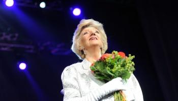 Latviešu estrādes karalienei Margaritai Vilcānei - 80