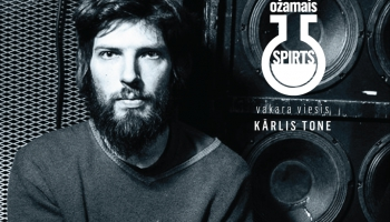 Mūziķis un aktīvists Kārlis Tone: dziesmas radīt kļūst aizvien grūtāk