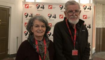 Paulis un Irēne Lazdas jau 30 gadus īsteno Dr. Ainas Galējas stipendiju programmu