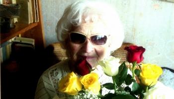 Šodien aprit apaļi simts gadi, kopš dzimusi teātra un kino aktrise Elvīra Baldiņa