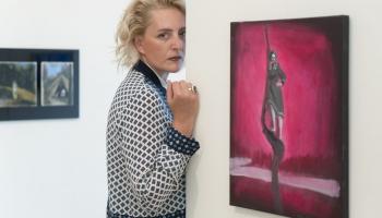 Māksliniece Anna Heinrihsone: Arī teātri vispirms domāju no gleznieciskā viedokļa