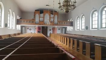 Slokas baznīcas unikālo ērģeļu stāsts. Tās daudzinās Vēsturisko ērģeļu svētkos