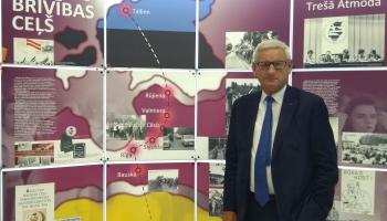 Bijušais Zviedrijas premjerministrs Karls Bilts: Baltijas ceļš mainīja vēsturi