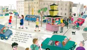 """Anetes Meleces grāmata """"Kiosks"""" iekļauta 100 pasaulē izcilāko jauno bilžu grāmatu sarakstā"""