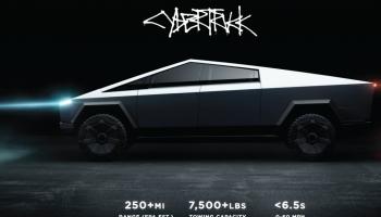 Jau pasūtīti vairāk nekā 200000 Tesla Cybertruck