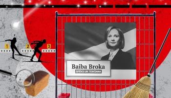 """#37 Kukulis vai ziedojums: Kā Baiba Broka palīdzēja """"Skonto"""" būvniekiem"""