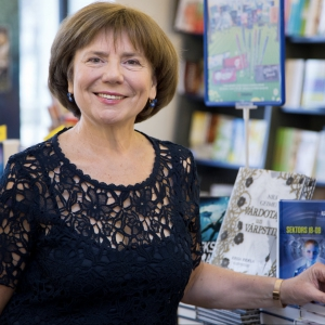 """Apgāda """"Zvaigzne ABC"""" īpašniece Vija Kilbloka pārliecināta: Grāmatai ir nākotne"""