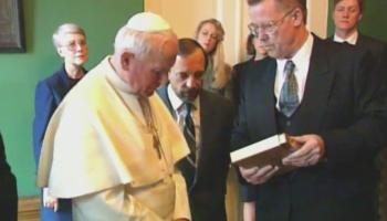 Jan Paweł II: Jestem z wami!
