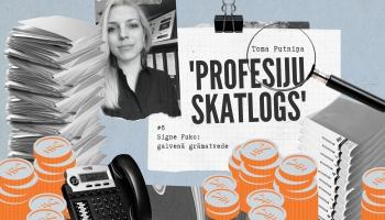 """Profesiju skatlogā"" grāmatvede Signe Fuko"