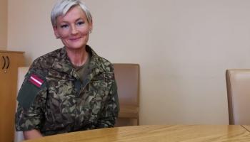 Pirmā pulkvede Latvijas armijā. Saruna ar Ilzi Žildi
