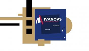 """CD """"Jānis Ivanovs. Symphonies Nos. 15& 16"""" un saruna ar diriģentu Gunti Kuzmu"""