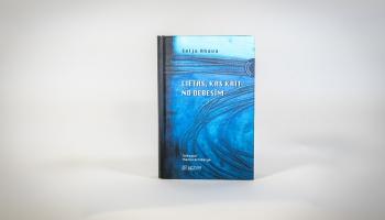 """Somu rakstnieces Seljas Ahavas otrā grāmata """"Lietas, kas krīt no debesīm"""""""