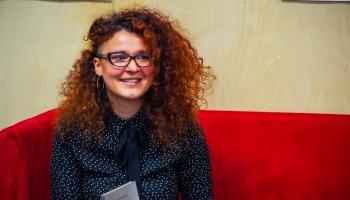 Jaunībai piestāv rokkoncerts. Rakstniece Sabīne Košeļeva