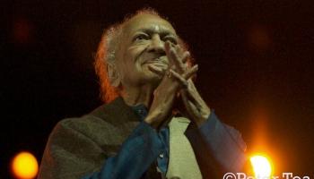 """""""Esmu centies sēdēt staltu muguru..."""" Indiešu mūzikas leģendai Ravi Šankaram - 100"""