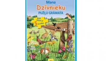 Mana dzīvnieku pužļu grāmata