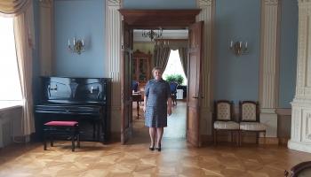 Kultūrvēsturiska saruna ar Tukuma muzeja direktori Agritu Ozolu