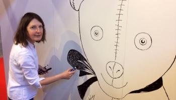 Saruna ar mākslinieci Anitu Paegli!