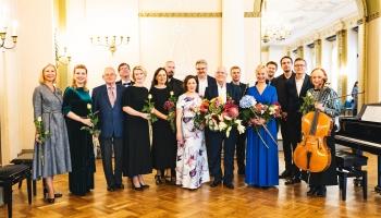 Komponista Alvila Altmaņa jubilejas autorkoncerts RLB Zelta zālē