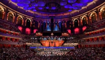 """Evija Skuķe, Pēteris Trasuns un Brandenburgas koncertu projekts """"BBC Promenādē"""" Londonā"""