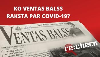 """Re:Check pēta: """"Ventas Balss"""", Radio Baltkom un astoņzobu mizgrauzis"""