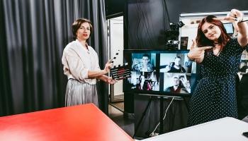 Начинающие латвийские кинорежиссеры и актеры о съемочном закулисье