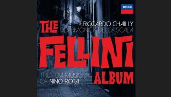 Nino Rotas mūzika Federiko Fellīni filmām