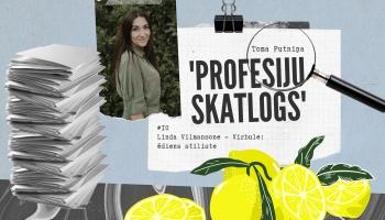 """Profesiju skatlogā"" ēdiena stiliste Linda Vilmansone- Virbule"
