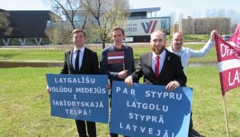 Latgaliešu valoda: 10% no satura sabiedriskajos medijos latgaliski