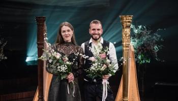 """Joels fon Lerbers un Dārta Tisenkopfa koncertā """"Arfu virtuozi"""""""