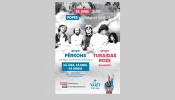 """Rokoratorijas atjaunojums un citi notikumi Popē, festivālā """" Vārti"""""""