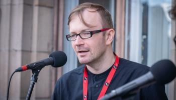 Dzejas lasījumi no Latvijas Radio balkona. Kārlis Vērdiņš
