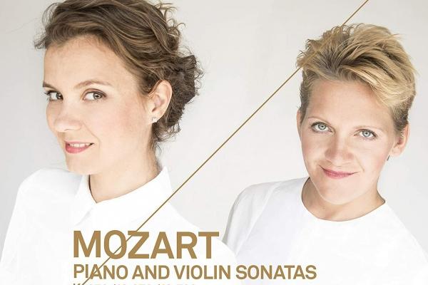 Mocarta 35. vijolsonātes II daļa un Vinetas Sareikas un Amandīnes Savarī  jauns albums