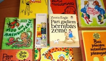 Lasām Zentas Ērgles grāmatas un iepazīstamies ar rakstnieces mazdēlu
