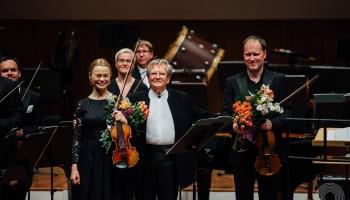 "Fedosejevs, Šmīdberga autorkoncerts, Hendelis, ""Kesselberg Ensemble"" un ""Ave Sol jubileja"
