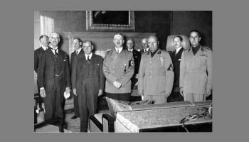 30. septembris. Eiropas vadītāji slepenās sarunās nolemj - Sudetija jāatdod Vācijai
