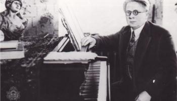 """Jāzepa Mediņa Svīta """"all'antica"""" (1935) - fotoreālisma manierē, skaisto melodiju lokā"""