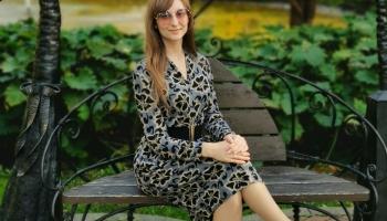 Žurnaliste INGA KAĻVA-MININA pretejā intervejis pusē