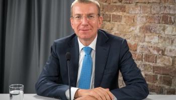 Наш гость - министр иностранных дел Латвии
