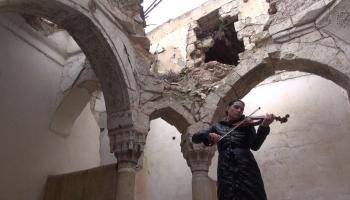 Vijolniece Ilze Kirsanova piedalījusies starptautiskā projektā Sīrijā