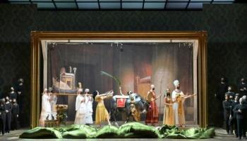 """Džuzepes Verdi operas """"Aīda"""" jauniestudējums Bastīlijas operā Parīzē. 21.februāra ieraksts"""
